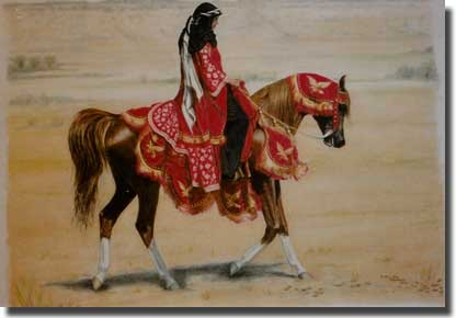 Belesemo Trad oil painting